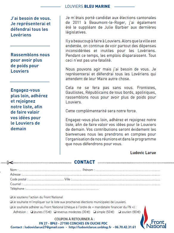 louviers-verso 27400 louviers dans Nos Tracts