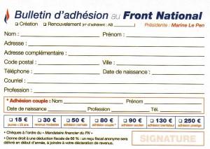 adhesion 2014 bulletin